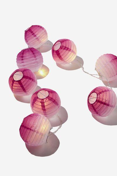 Usb Vibe String Lights, WILD LILAC DIP DYE