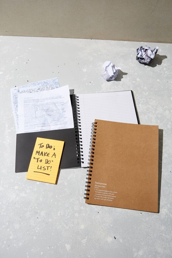 A4 Campus Notebook Recycled, TOMORROW!