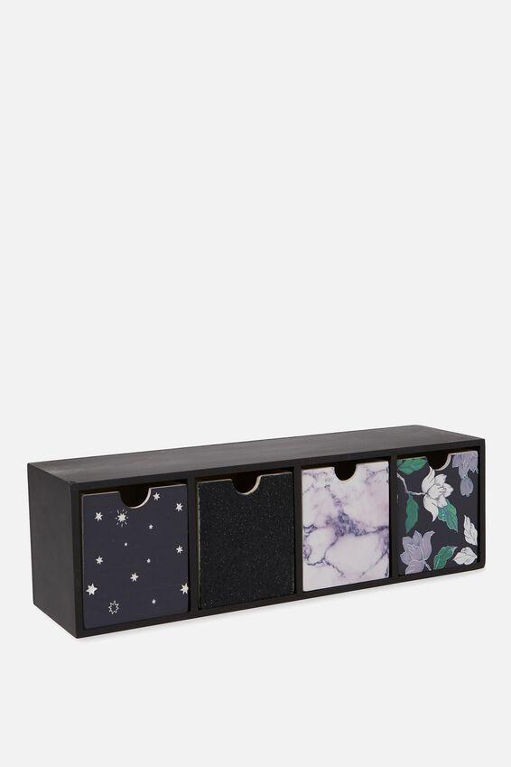 Quick Desk Drawer Storage, LUSH FLORAL