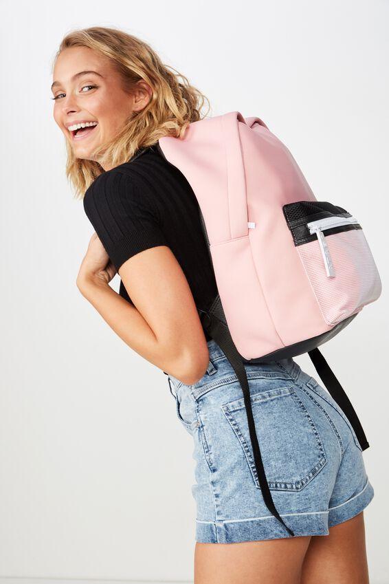 Omw Backpack, PINK MESH