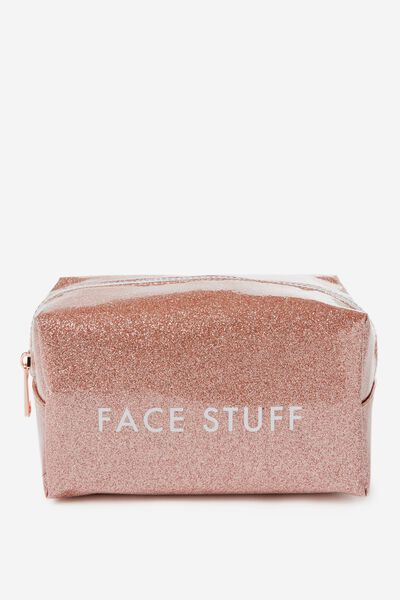 Made Up Cosmetic Bag, FACE STUFF