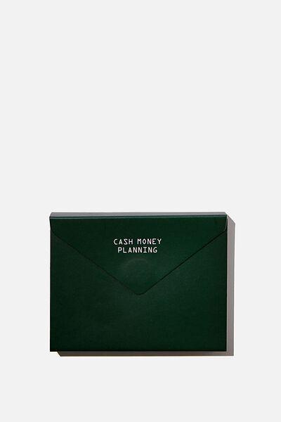 Planner Pocket Sticky Note Set, CASH MONEY PLANNING