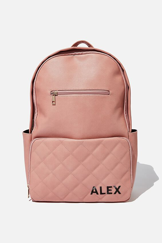Personalised Formidable Backpack, DUSTY ROSE