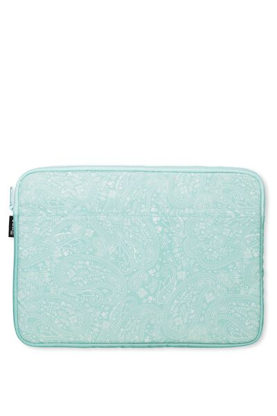 Your Freshie Laptop Case, AQUA LACE