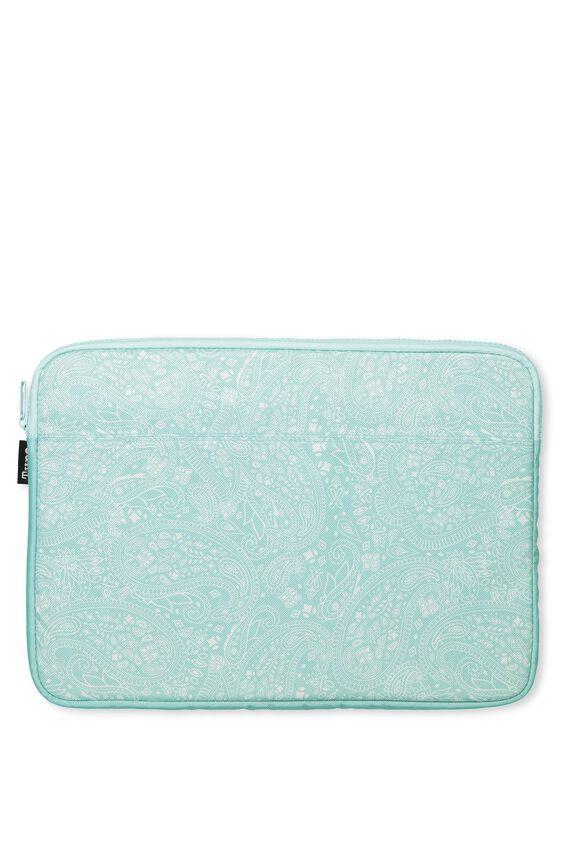 Your Freshie Laptop Case, AQUA LACE