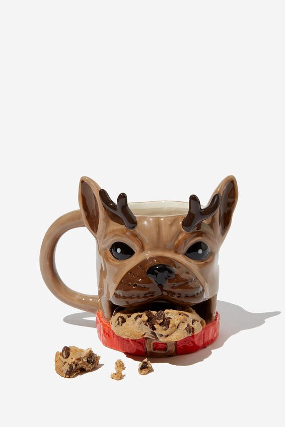 Cookie Mug, OPEN MOUTH PUG