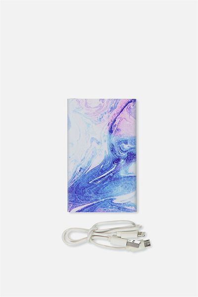 Printed Charge It, MERMAID MARBLE