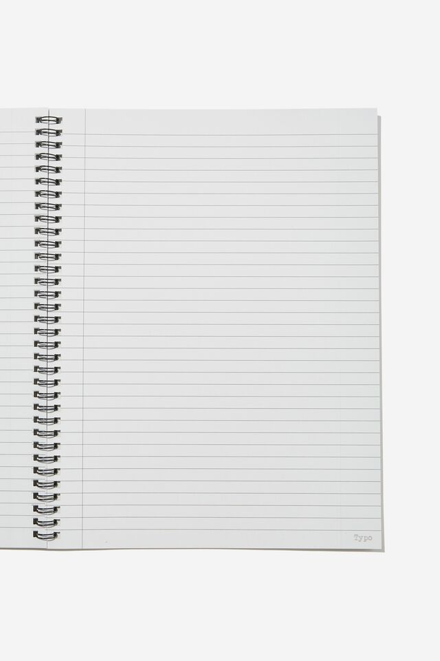 A4 Spinout Notebook Recycled, LCN MT TLC POSTER