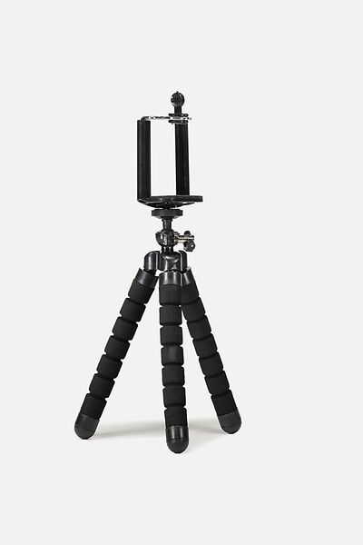 Bendy Phone Tripod, BLACK
