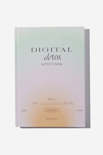 A5 Fashion Activity Journal, DIGITAL DETOX VOL.2