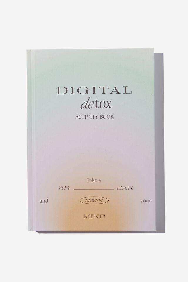 "A5 Fashion Activity Journal (8.27"" x 5.83""), DIGITAL DETOX VOL.2"