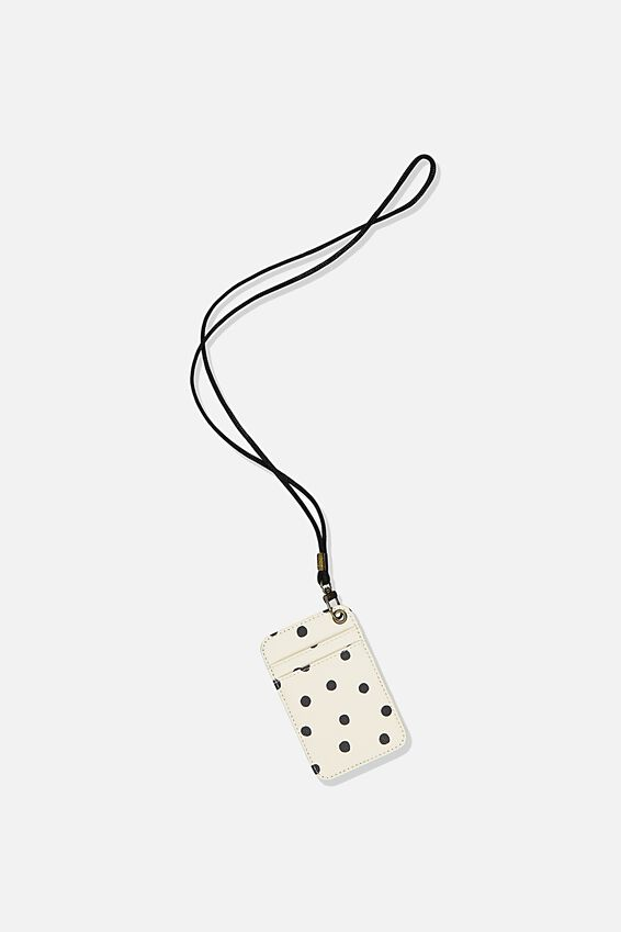 Printed Card Holder, DOTTIE SPOT