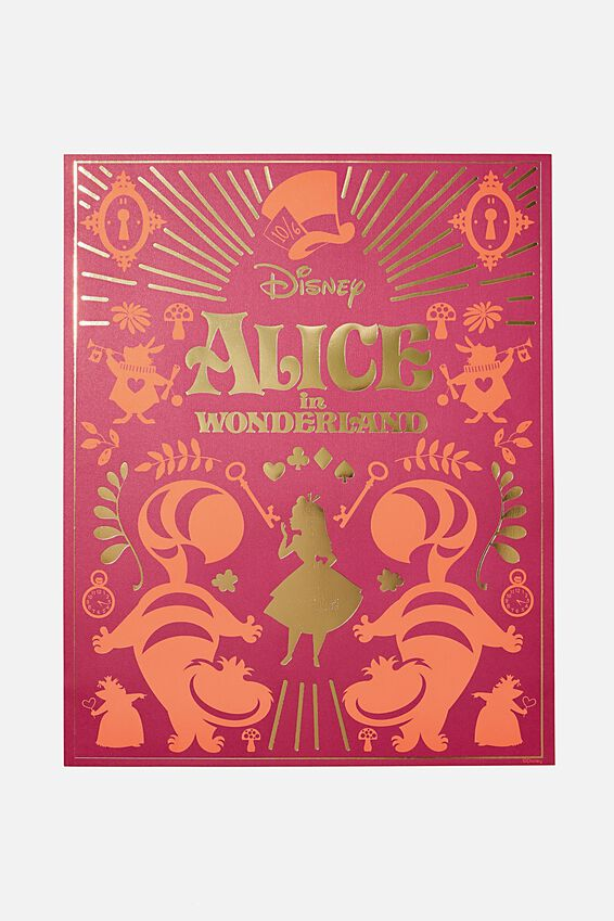 40 X 50 Limited Edition Print, LCN DIS GN ALICE IN WONDERLAND