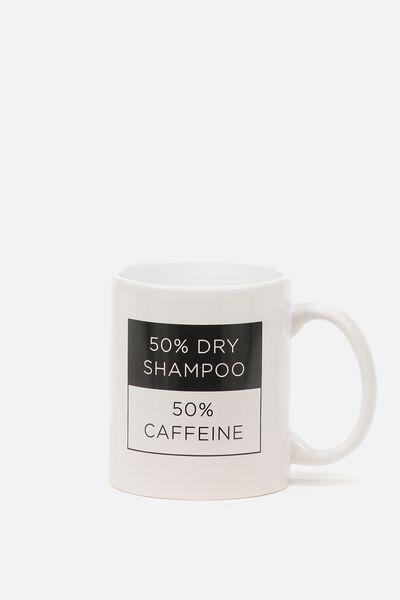 Anytime Mug, SHAMPOO & CAFFEINE
