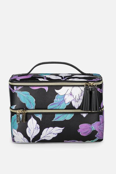 St Tropez Beauty Case, LUSH FLORAL