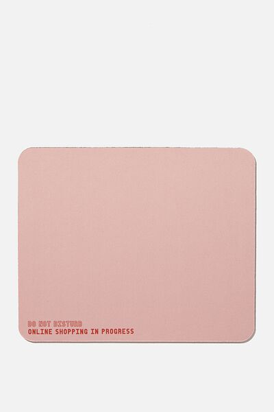 Neoprene Mouse Pad, DO NOT DISTURB