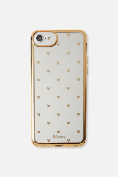 Transparent Phone Cover Universal 6,7,8, LCN MICKEY DITSY