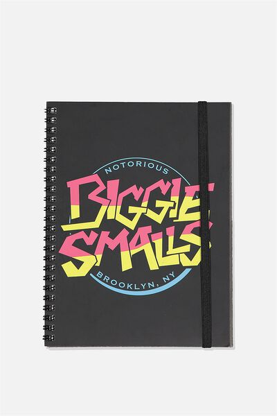 A5 Spinout Notebook Recycled, LCN MT BIGGIE SMALLS