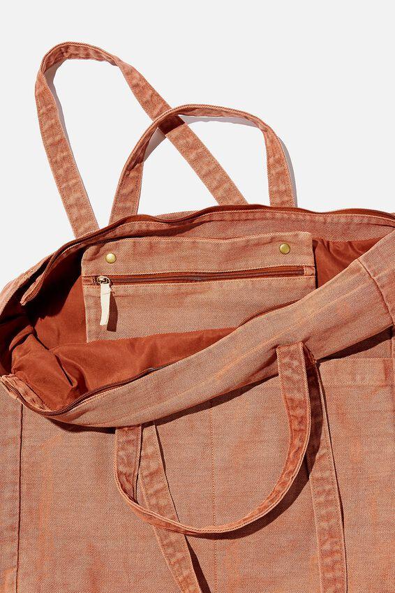 The Studio Tote Bag, RUST