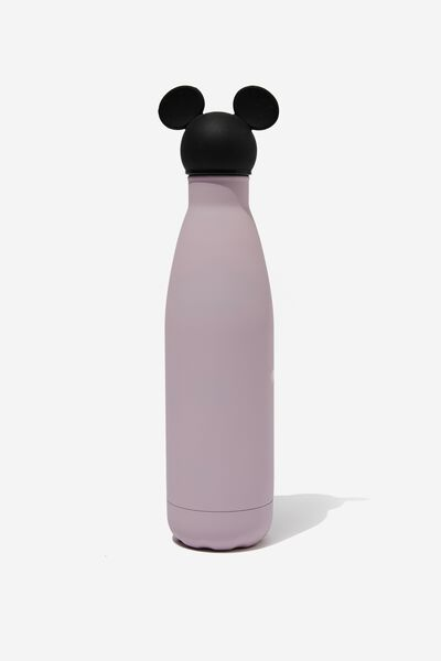 Premium Metal Drink Bottle 500Ml, LCN DIS MICKEY DUSTY LILAC