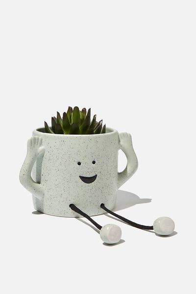 Small Shaped Planter, HAPPY ARMS