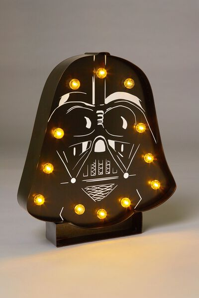 Large Marquee Light, LCN DARTH VADER