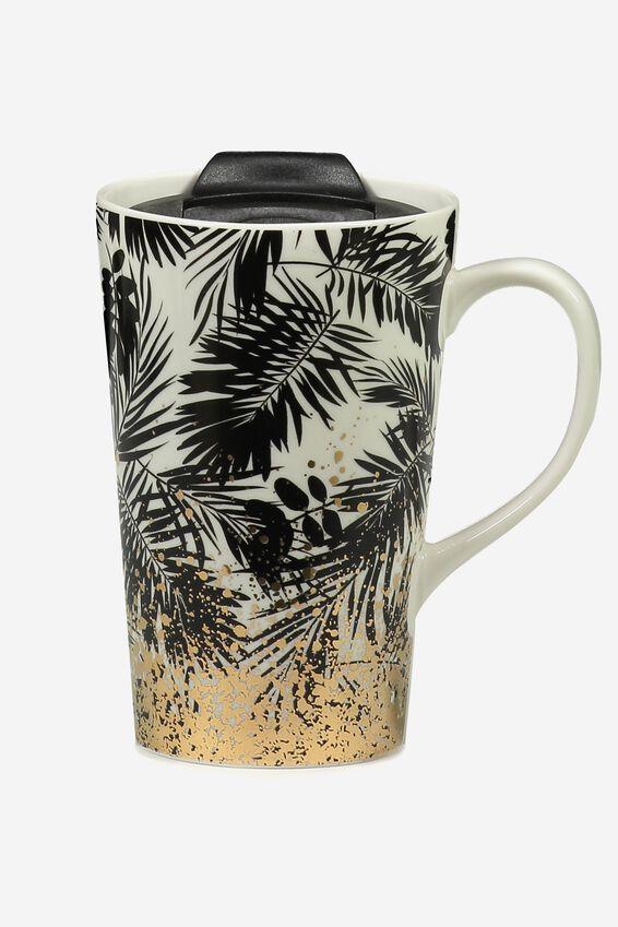 Nomad Travel Mug, GOLD PALM