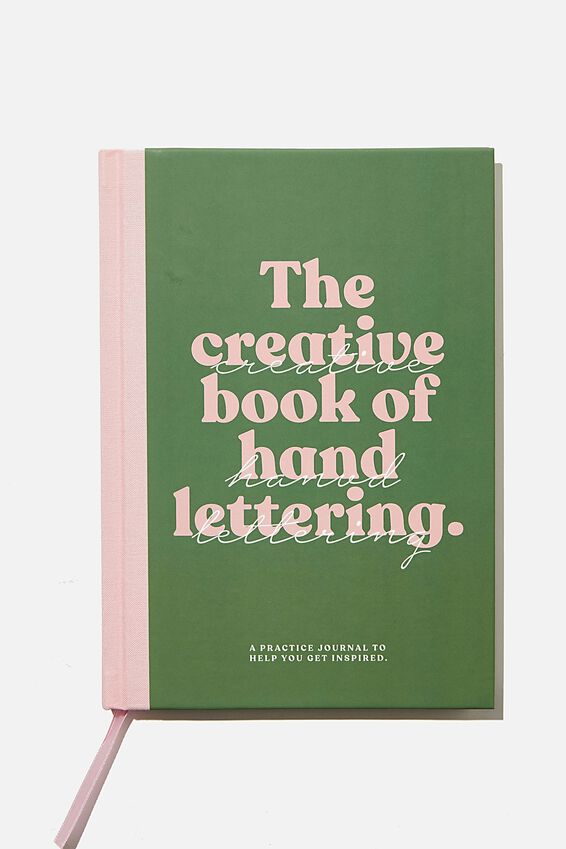 A5 Fashion Activity Journal, CREATIVE BOOK OF HAND LETTERING