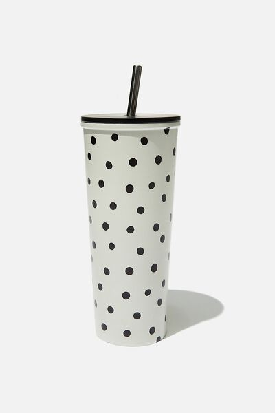Metal Smoothie Cup, DOTTIE SPOT