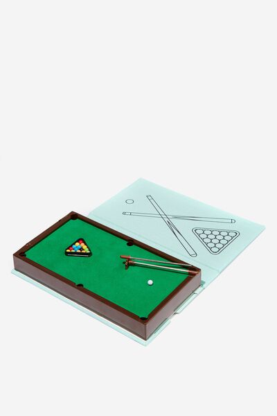 Mini Book Games, POOL