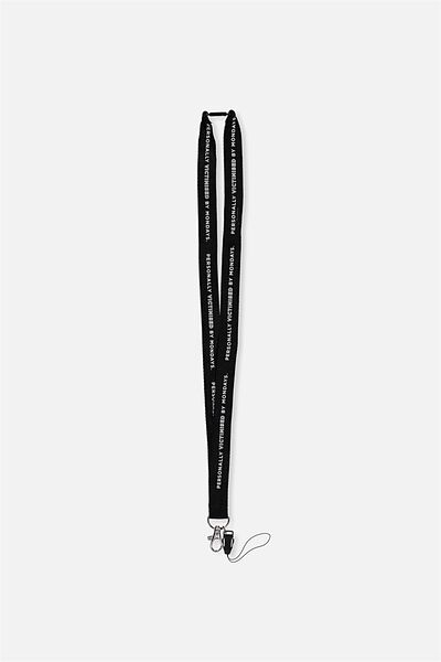 Printed Lanyard, PERSONALLY VICTIMISED BY MONDAYS