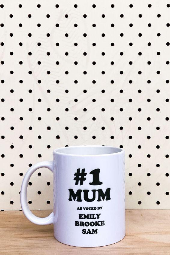 Personalised Mug, #1 MUM 2.0