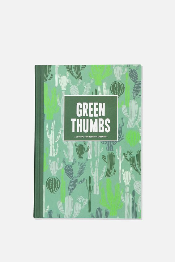 A5 Fashion Activity Journal, GREEN THUMBS