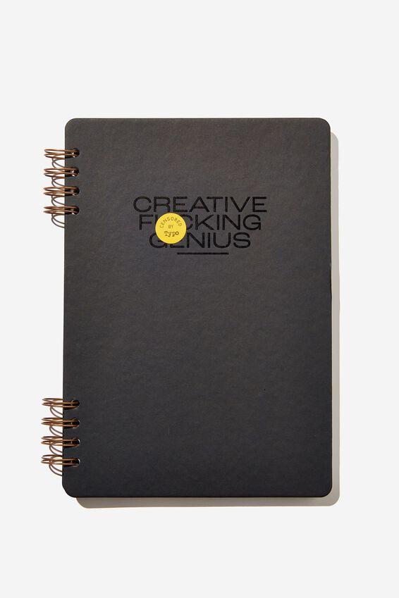 Billie B5 Notebook, BLACK CREATIVE GENIUS !!