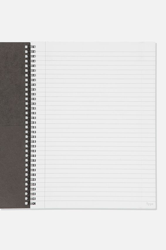 A4 Spinout Notebook Recycled, DAILY TIMES