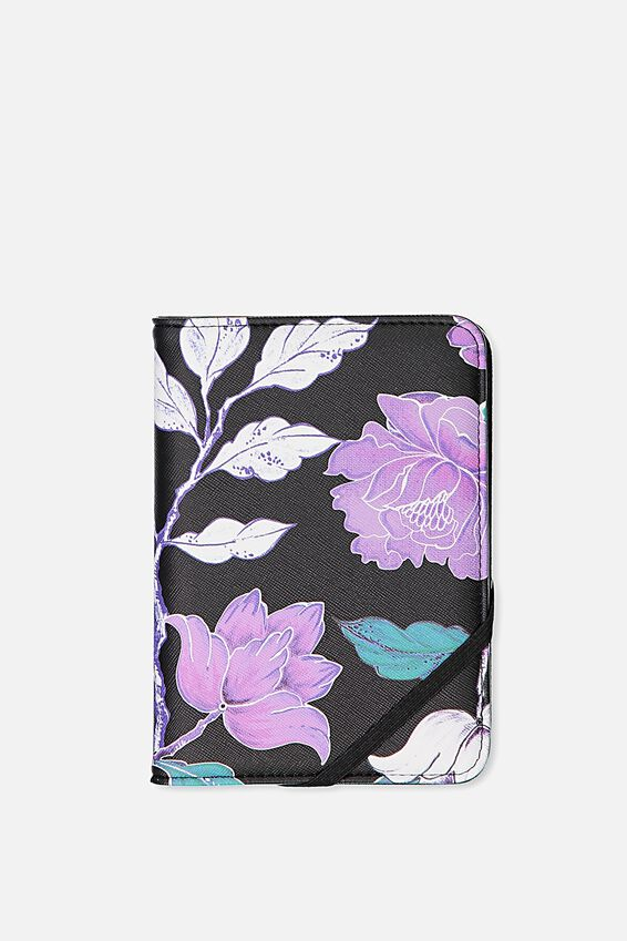 Passport Holder, LUSH FLORAL