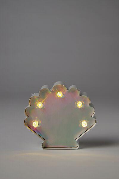 Shaped Mini Marquee Light, SEASHELL