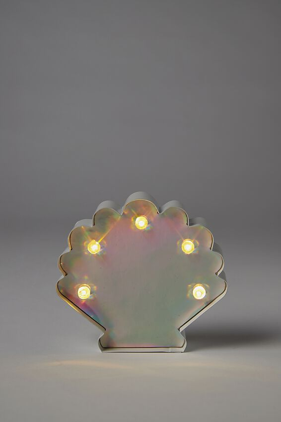 Shaped Mini Marquee Light, SEASHELL