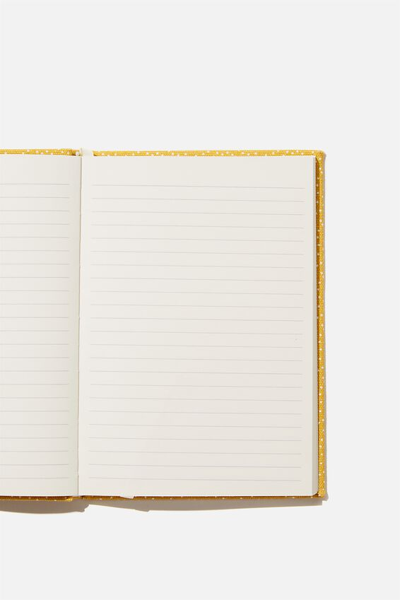 A5 Oxford Notebook, MUSTARD SPECKLE