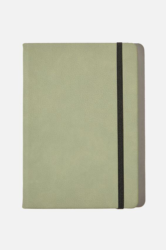 """A5 Buffalo Journal (5.8"""" x 8.2""""), GUM LEAF"""