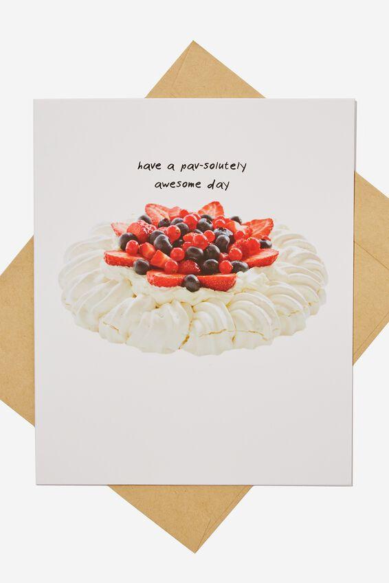 Funny Birthday Card, PAVSOLUTELY