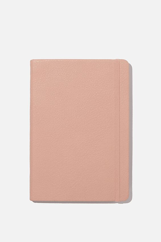 A5 Dot Buffalo Journal, NUDE PINK