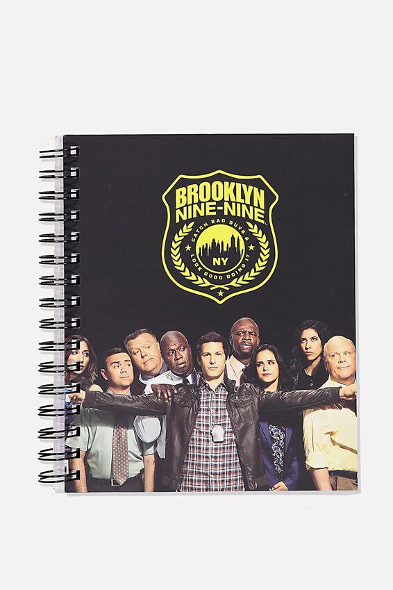 """A5 Brooklyn Nine-Nine Campus Notebook-V (8.27"""" x 5.83""""), LCN UNI BR BROOKLYN 99"""