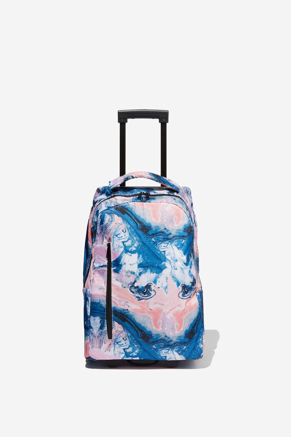 Soft Shell Suitcase, MOODY MARBLE