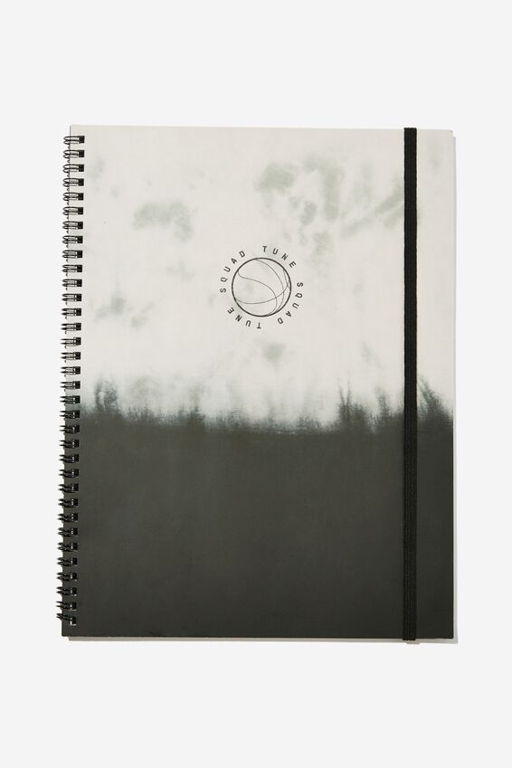 College Ruled Spinout Notebook V, LCN WB SPACE JAM 2 DIP DYE