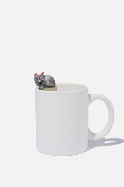 Novelty Shaped Mug, MINI CAT