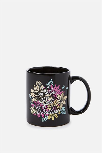 Anytime Mug, LET'S GET WASTED!