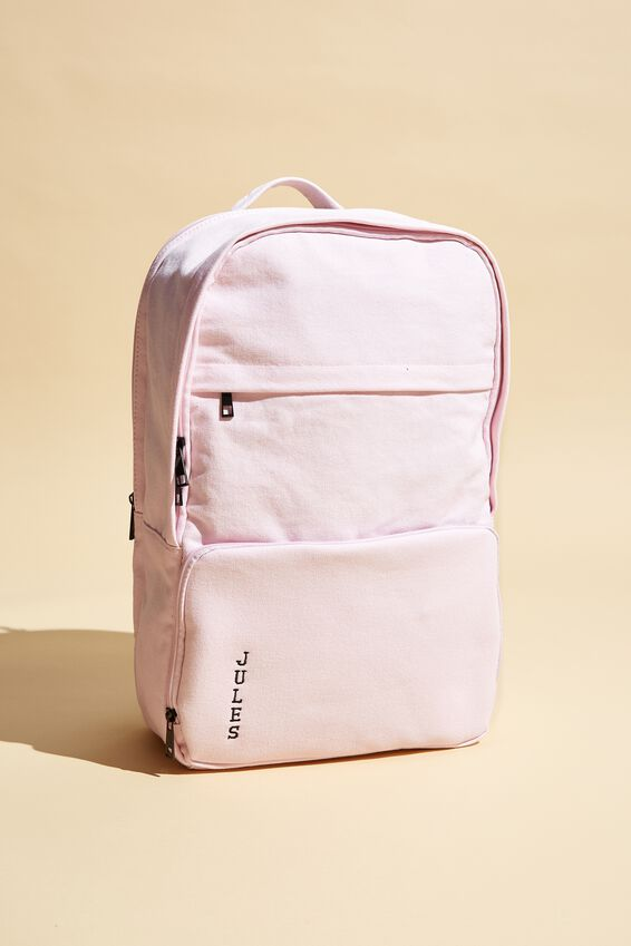 Personalised Formidable Backpack 15 Inch, POWDER PINK