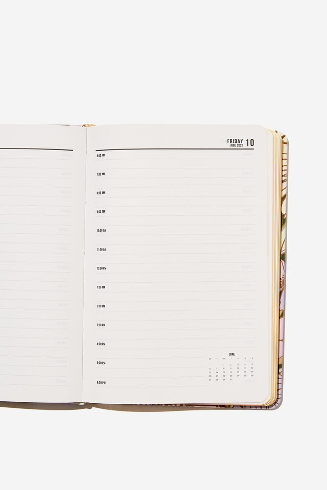 2022 A5 Daily Buffalo Diary, SUNNIE FLORAL