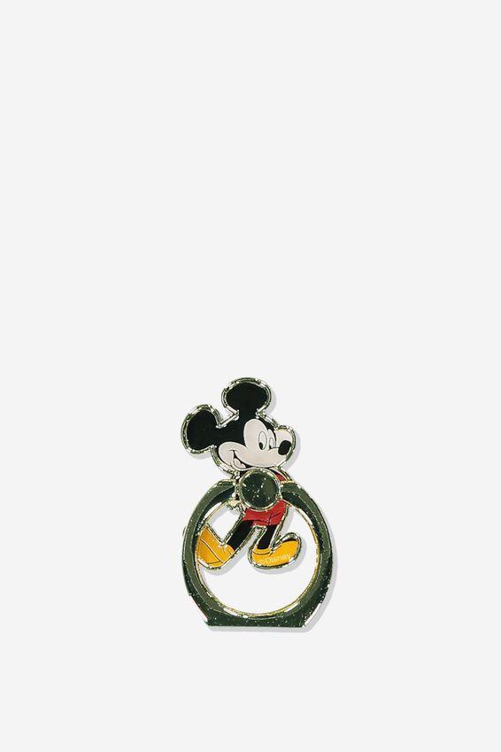 Disney Metal Phone Ring, LCN DIS VINTAGE MICKEY